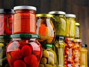 Pickled Veggies, Jam, Sauces